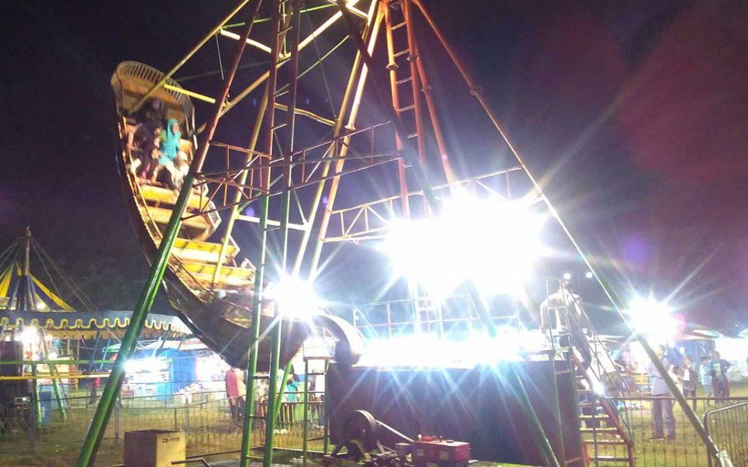 Serunya PesonaRamadan2018 dalam Semarak Pasar Malam di Alun Alun Karanganyar Kebumen
