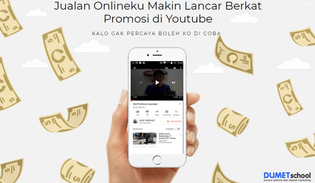 Jualan Onlineku Makin Lancar Berkat Promosi di Youtube