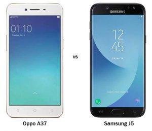 Oppo-A37-Vs-Samsung-J5