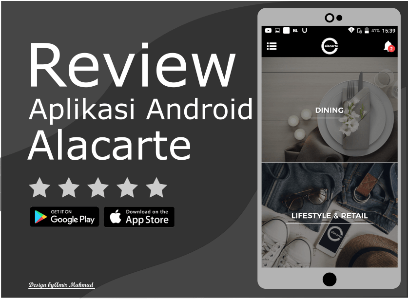 Review Aplikasi Android Alacarte