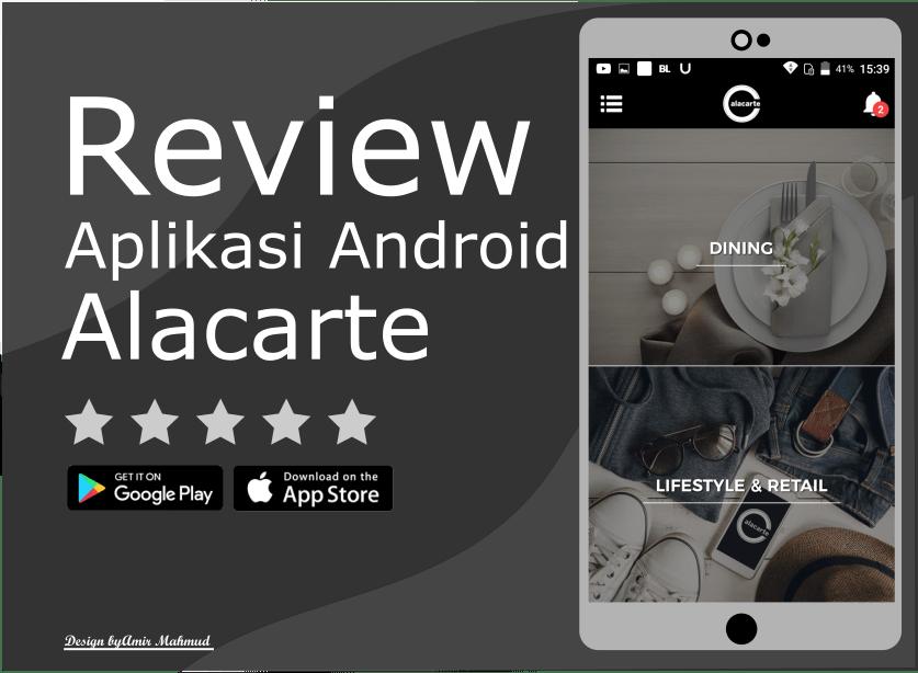 Review Aplikasi Android Alacarte