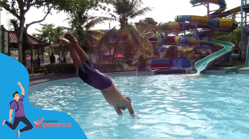 #XperienceSeru Saat Memacu Adrenalin di Owabong Waterpark Bersama Traveloka Xperience