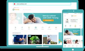 Website kesehatan terpercaya sehatQ.com
