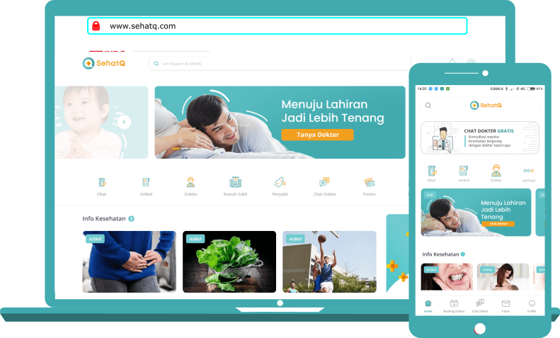 Platform Pelayanan Kesehatan Online SehatQ.com