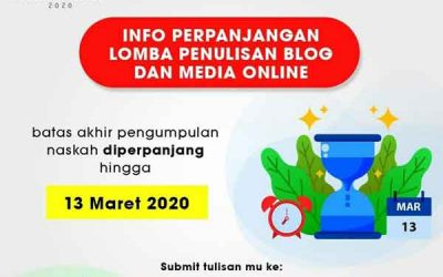 Daftar Lomba Blog Februari 2020