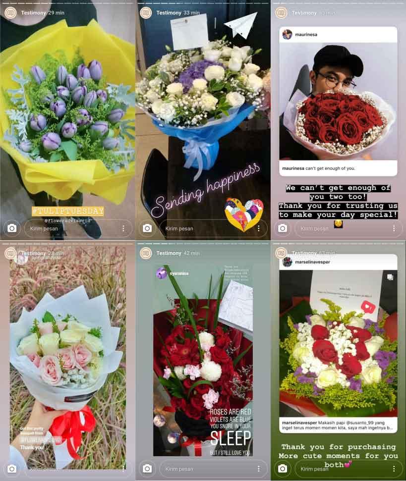 Testimoni Flower Advisor