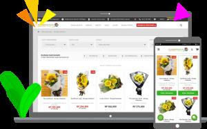 Flower Advisor, Toko Bunga Online