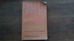 Review buku novel kita kata dan cinta karya Khrisna Pabichara