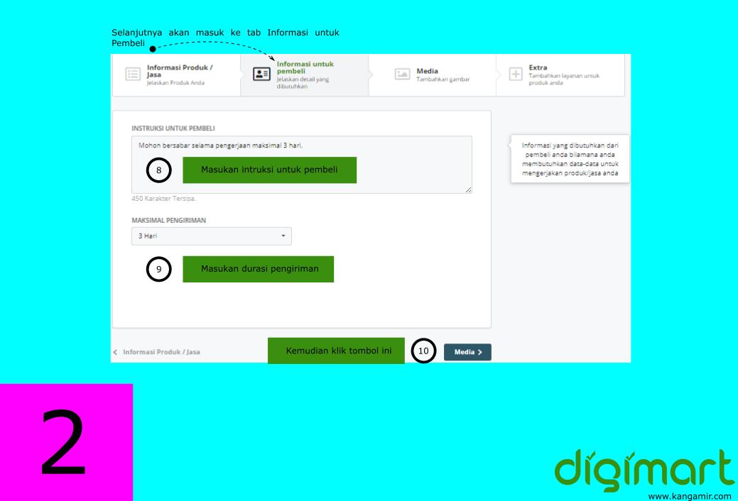 Cara daftar situs freelancer Indonesia digimart.co.id #2