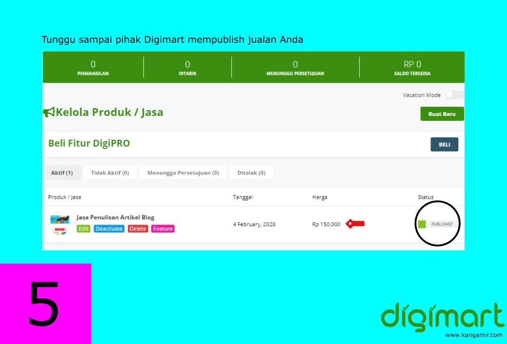 Cara daftar situs freelancer Indonesia digimart.co.id #5