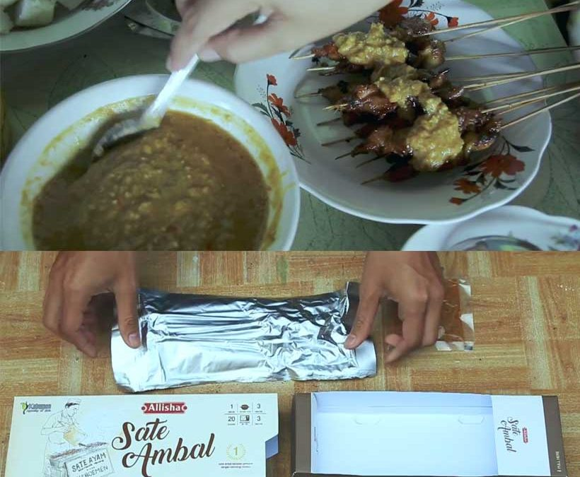 Sate Ambal-Kuliner Khas Kebumen yanga Tahan Berbulan-bulan dan Tanpa Pengawet