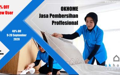 Review Jasa Layanan Pembersihan OKHOME – Dijamin Puas Deh !