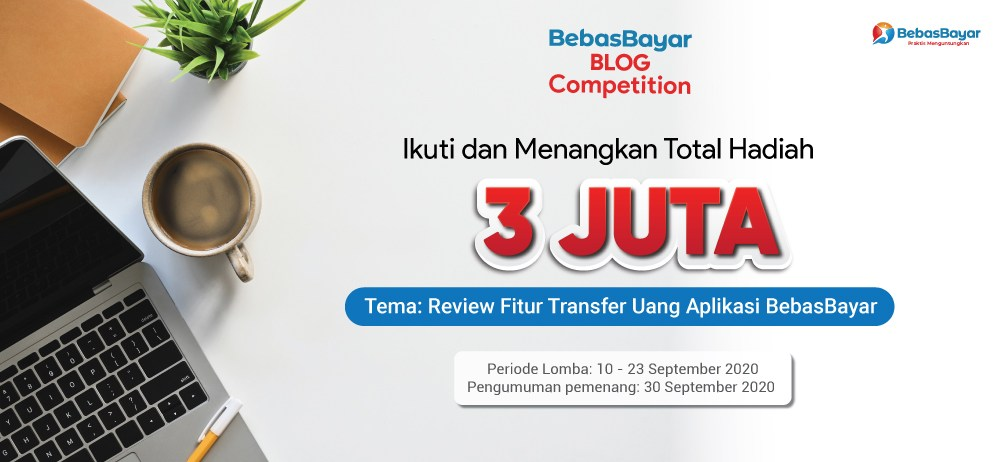 Lomba Blog Bebasbayar 10 – 23 September 2020