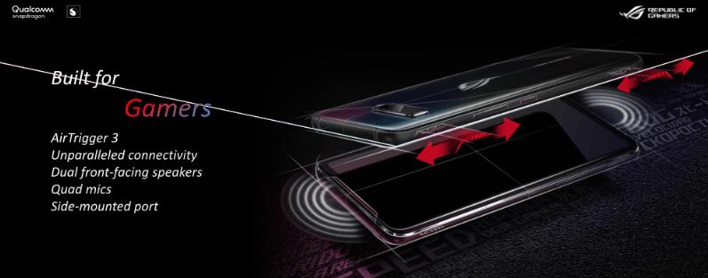 Asus ROG Phone 3 Dibangun khusus untuk gaming