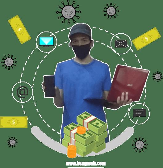 Terbukti Menghasilkan! Ini 4 Cara Saya Mendapatkan Uang dari Internet Saat Pandemi Corona. Mau Coba Yang Mana?