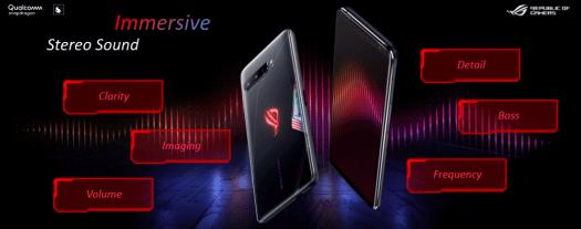 Filter Suara ROG Phone 3