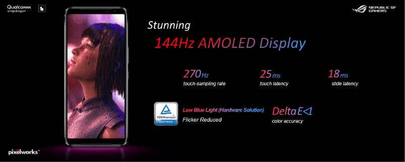 Stunning 144 hz ROG Phone 3