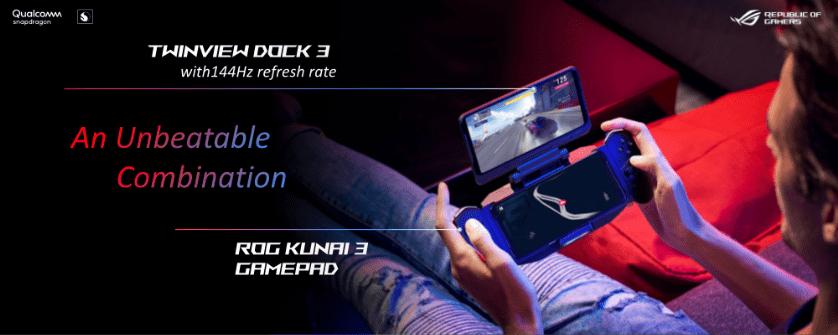 TwinView Dock 3 ROG Phone 3