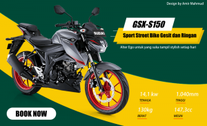 Sepeda Motor GSX S150
