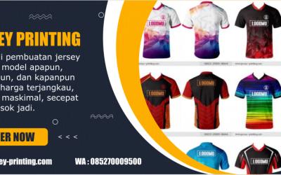 7 Tips Memilih Jersey Printing Terbaik, jersey-printing.com Tawarkan Banyak Kelebihan