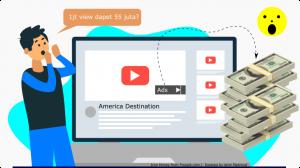 Iklan youtube luar negeri gede banget