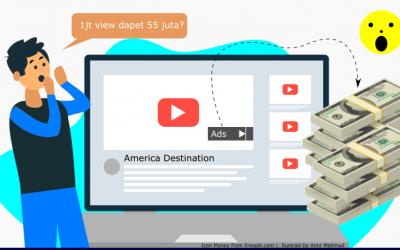 Mau Jadi Youtuber? Pelajari Bahasa Inggris Karena Adsense Luar Negeri Nilainya Gede Banget