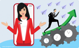 Asisten Virtual Tanya Veronika dari Telkomsel