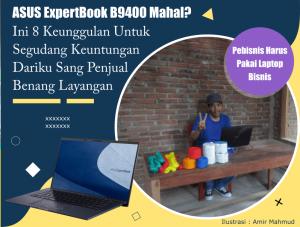 Laptop Kelas Bisnis ASUS ExpertBoook B9400