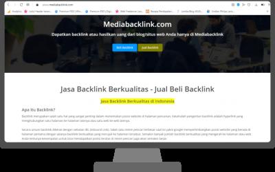 Review Mediabacklink, Penyedia Backlink Berkualitas Sekaligus Tempat Blogger Cari Job Nulis