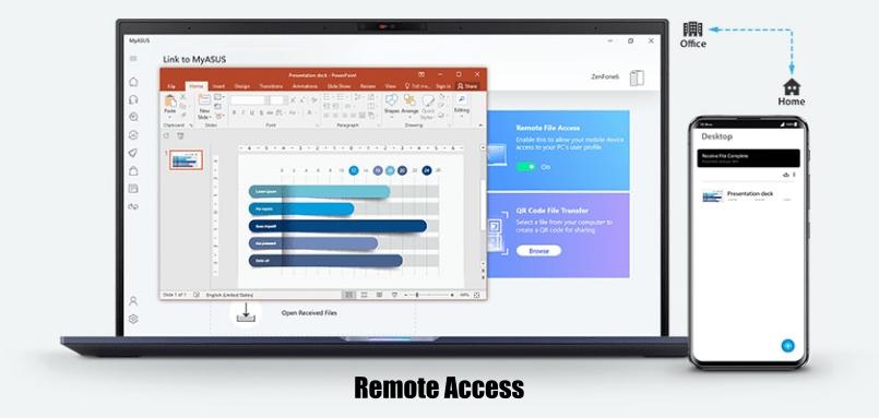 Fitur Remote Access ASUS VivoBook 15 A516