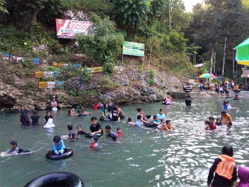 Kolam Kedua-Langen Ujung Buayan Kebumen