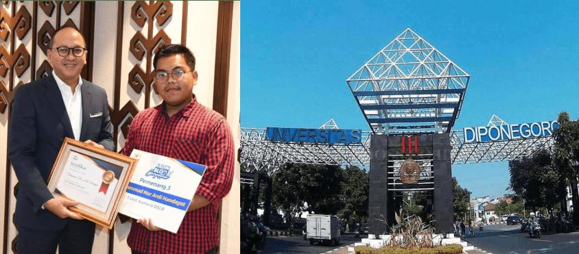 Sukses Masuk Undip Semarang Berkat Prestasi Lomba Blog, Ini Cerita Blogger Riau Ardi Handayat