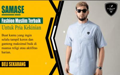 Review Baju Muslim Pria SAMASE! Model Keren dan Adem Dipakai