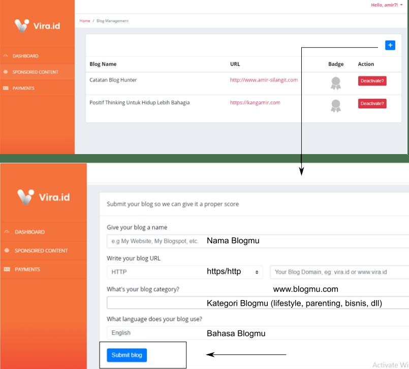 Cara daftar situs influencer vira.id fix-min