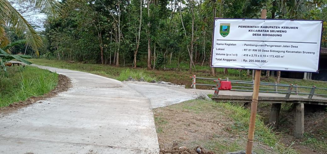 Jalan-Baru-Sipendok-Sidoagung-Sruweng