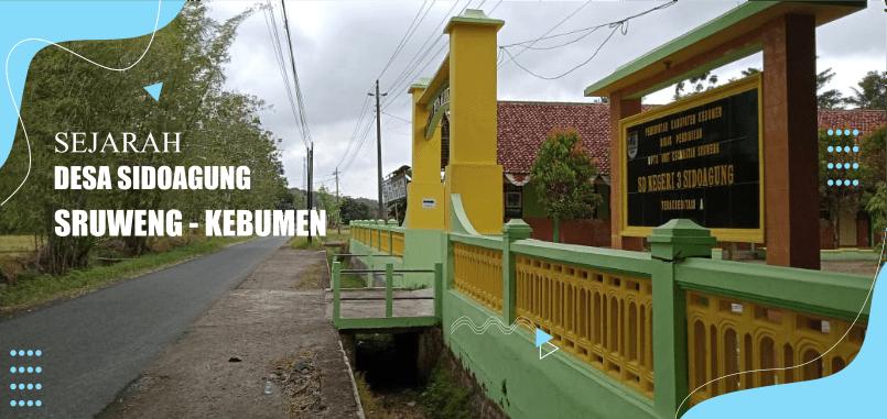 Sejarah Desa Sidoagung, Sruweng, Kebumen